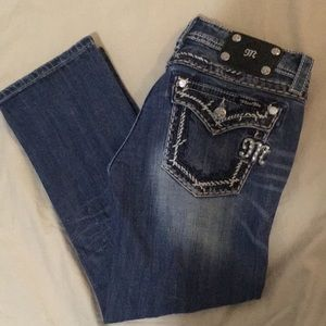 EUC Miss Me Cropped Jeans